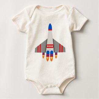 Space Ship Baby Bodysuit