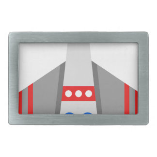 Space Ship Belt Buckles