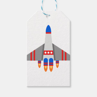 Space Ship Gift Tags