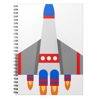 Space Ship Notebook