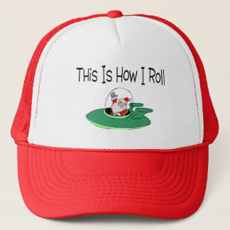 Space Ship Santa Trucker Hat