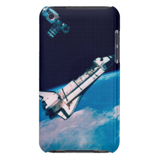 Space Shuttle and Station in Orbit Case-Mate iPod Touch Case
