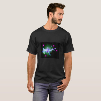 Space shuttle and station T-Shirt