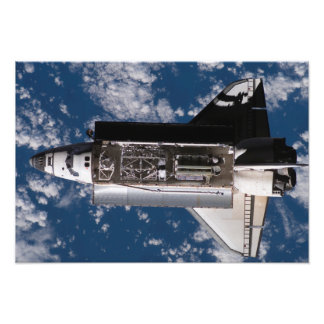 Space Shuttle Atlantis Photograph