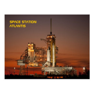 Space Shuttle Atlantis Postcard