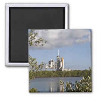 Space Shuttle Atlantis sits ready Magnet