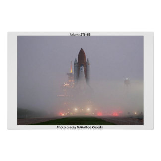 Space Shuttle Atlantis - STS-115 Poster