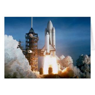 """Space Shuttle"" Card"