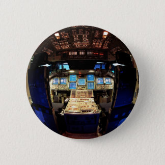 Space Shuttle Cockpit 2 Inch Round Button