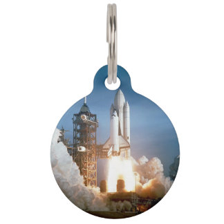 Space Shuttle Columbia launching Pet ID Tag