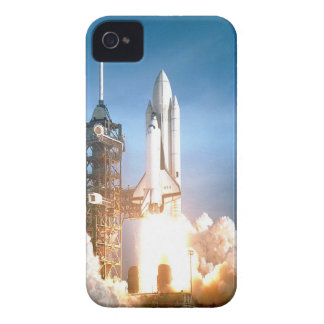 Space Shuttle Columbia launching to success goal iPhone 4 Covers