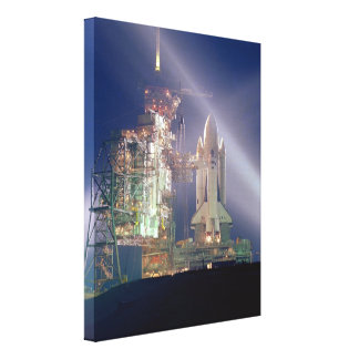 Space Shuttle Columbia Stretched Canvas Prints