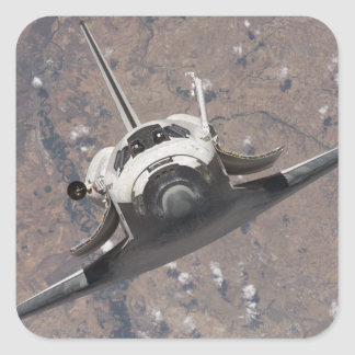 Space Shuttle Discovery 15 Square Sticker