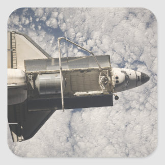 Space Shuttle Discovery 7 Square Sticker