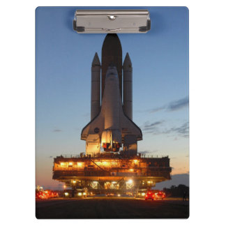 Space Shuttle Discovery Launch NASA Clipboard