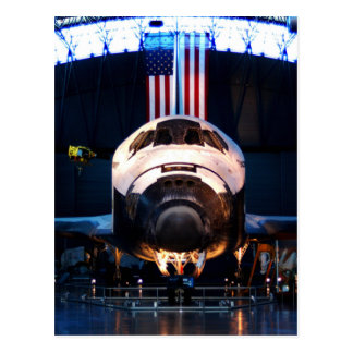 Space Shuttle Discovery Postcard