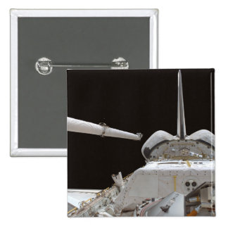 Space Shuttle Discovery's payload bay 2 Inch Square Button