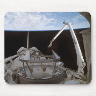 Space Shuttle Discovery's payload bay 2 Mouse Pad