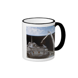 Space Shuttle Discovery's payload bay 2 Ringer Mug