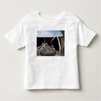 Space Shuttle Discovery's payload bay 2 Tees