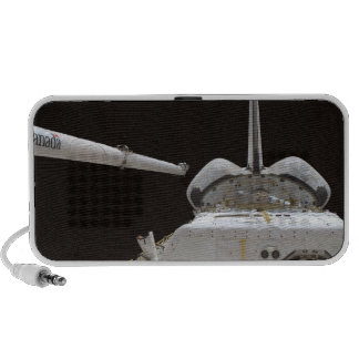 Space Shuttle Discovery's payload bay Mini Speakers