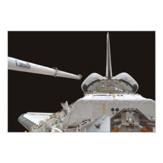 Space Shuttle Discovery's payload bay Photo