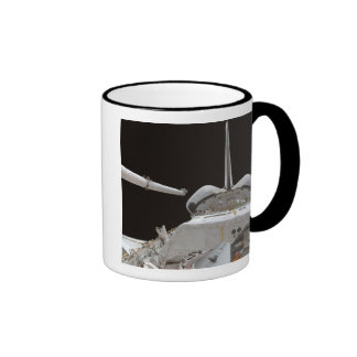Space Shuttle Discovery's payload bay Ringer Coffee Mug