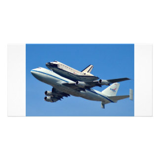 Space Shuttle Endeavor Photo Card