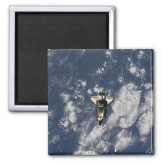Space Shuttle Endeavour 10 Square Magnet