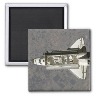 Space Shuttle Endeavour 7 Square Magnet