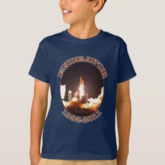 Space Shuttle Endeavour Final Launch T-Shirt