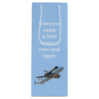 Space shuttle Endeavour Wine Gift Bag