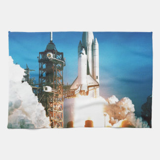SPACE SHUTTLE LAUNCH TOWELS