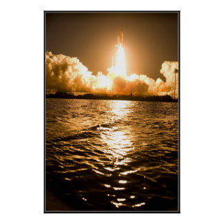 Space Shuttle Lift Off Poster