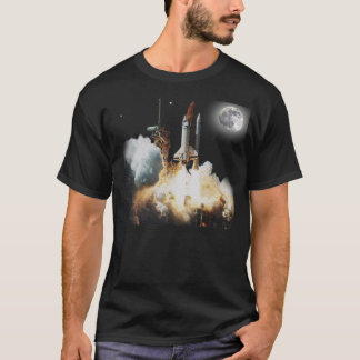 Space Shuttle liftoff T-Shirt