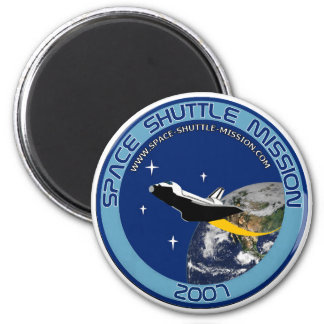 Space Shuttle Mission Magnet #1