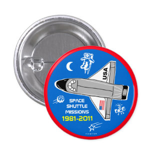 Space Shuttle Missions Button 6