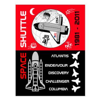 Space Shuttle Postcard 2