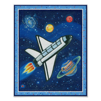 Space Shuttle Posters