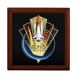 Space Shuttle Program Commemorative Patch Gift Box