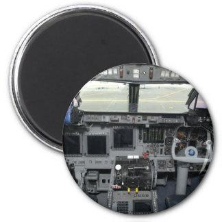 Space Shuttle Sim Aircraft Cockpit Magnet