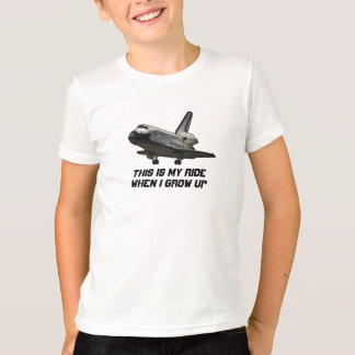 Space Shuttle t-shirt for kids