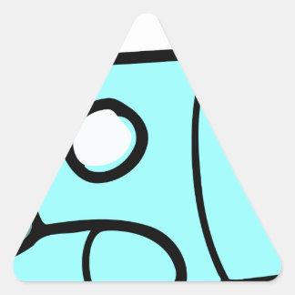 Space Shuttle Triangle Sticker