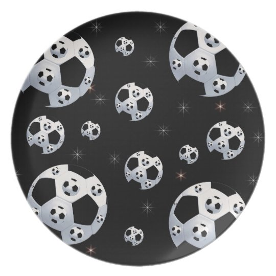 Space Soccer Plate