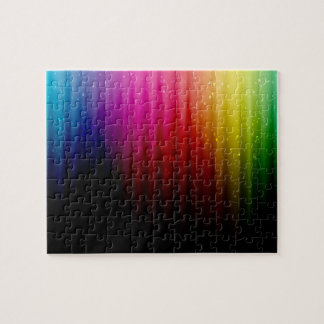 Space Spectrum of Light Jigsaw Puzzle