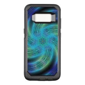 Space spiral OtterBox commuter samsung galaxy s8 case