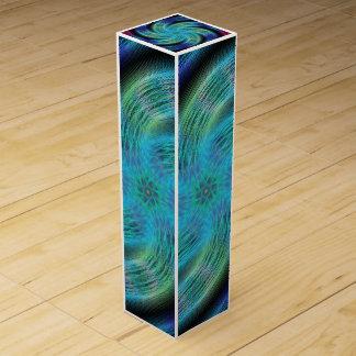 Space spiral wine gift box