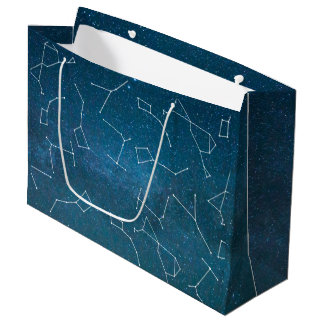 Space Star Constellations Astronomer Large Gift Bag