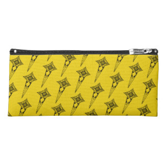 Space star fish - pencil case tribal star pattern