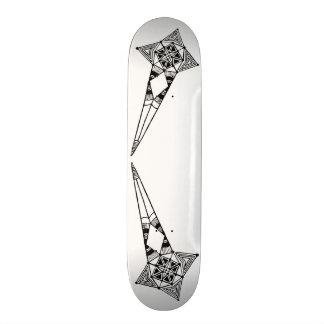 Space star fish - skateboad tribal star boho style skateboards